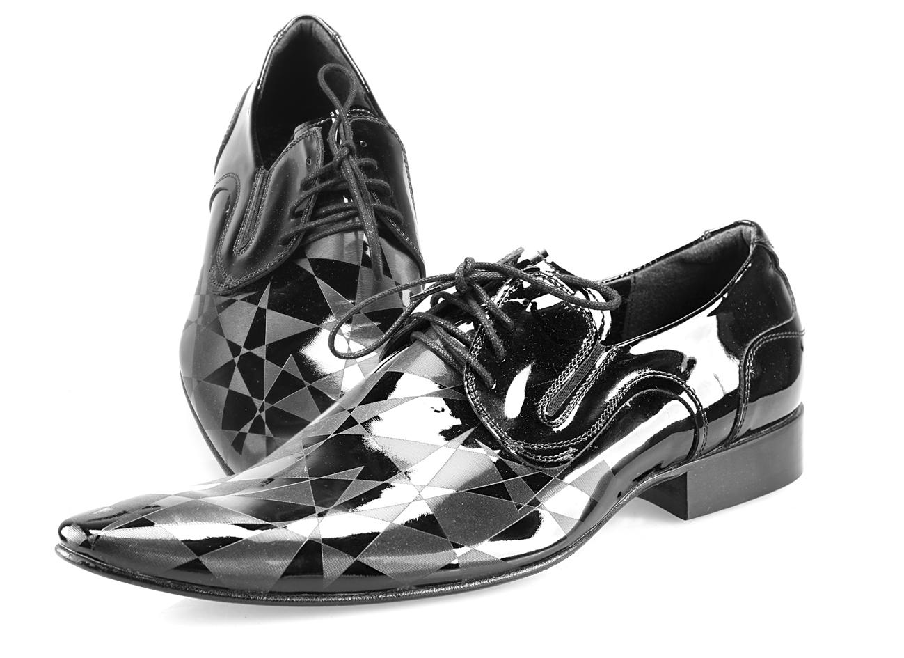dac86937d280c TOPOBUV - Pánska spoločenská obuv 144/01 vernice laser