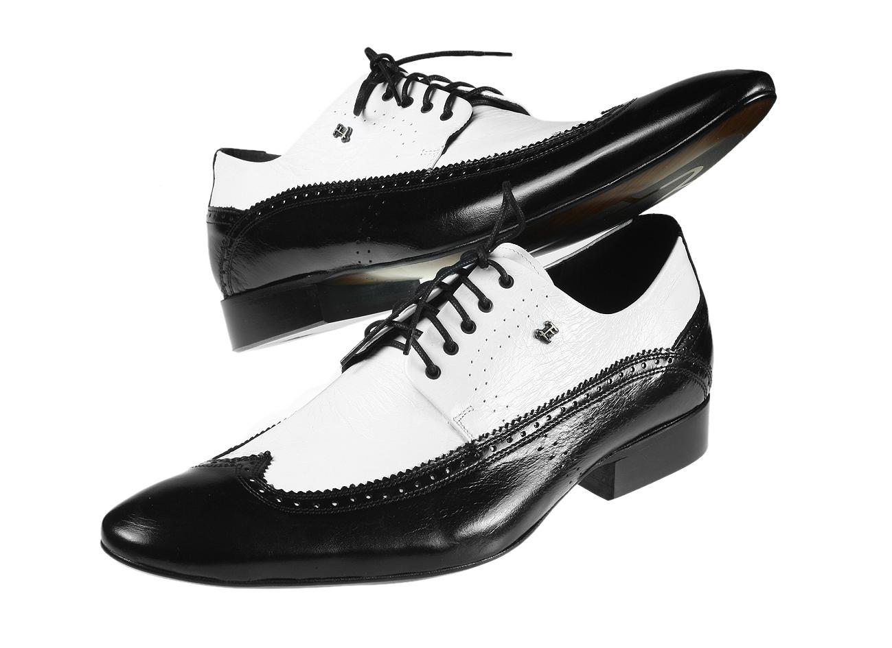 bd30fd6ce6 TOPOBUV - Pánska spoločenská obuv 255 13 Nero bianco
