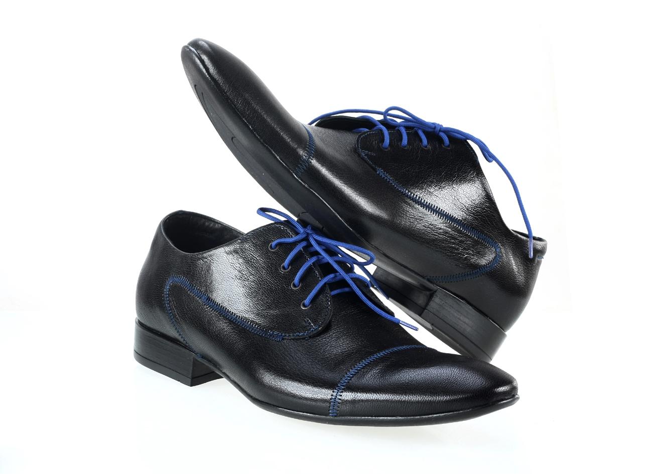 94bddad70599c TOPOBUV - Pánska spoločenská obuv 211/G01 Nero capra